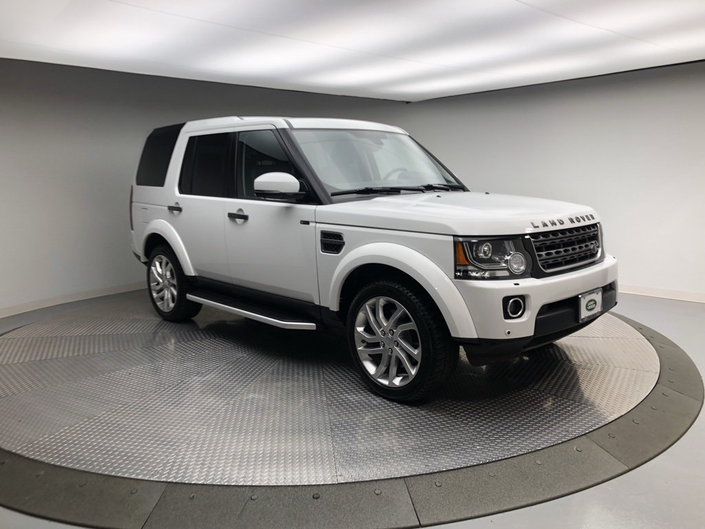 Certified Pre-Owned 2016 Land Rover LR4 4WD 4dr HSE Silver Edition