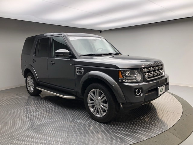 Certified Pre-Owned 2015 Land Rover LR4 4WD 4dr LUX