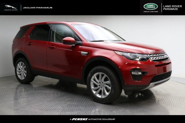 Pre-Owned 2018 Land Rover Discovery Sport HSE 4WD Four Wheel Drive Sport Utility