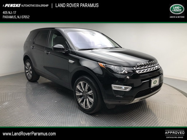 Certified Pre-Owned 2018 Land Rover Discovery Sport HSE LUXURY 4WD Four Wheel Drive Sport Utility