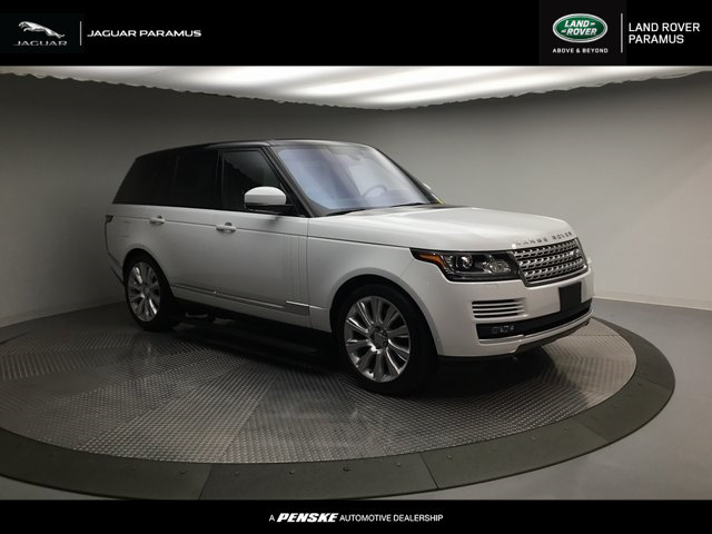 Pre-Owned 2016 Land Rover Range Rover 4WD 4dr Supercharged Four Wheel Drive SUV