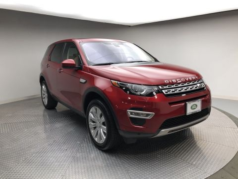Certified Pre-Owned 2019 Land Rover Discovery Sport HSE Luxury 4WD