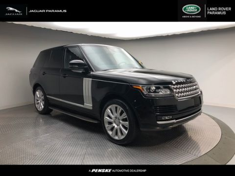 Certified Pre-Owned 2015 Land Rover Range Rover 4WD 4dr Supercharged