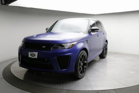 Pre-Owned 2019 Land Rover Range Rover Sport V8 Supercharged SVR